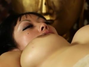 attractive busty babes in secret massage saloon
