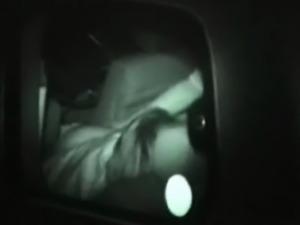 Dark Night Love Affair Inside The Car