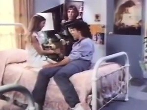 Angel West, Jimmy Starr in hot blowjob from the golden age