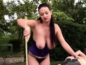 Latex and extremely horny fetish actions