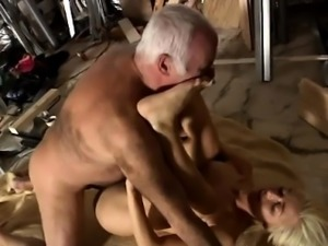 Old man spanks a young girl At that moment Jim arrives and h