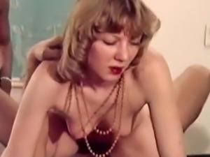 Crazy vintage fuck star in vintage porn movie