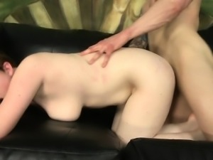 Lascivious Curvy Hoe Sits On Big Cock Of Boyfriend
