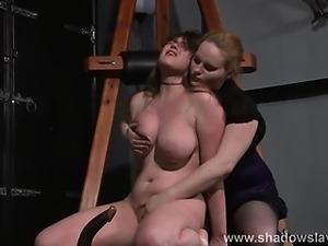 Taylor Hearts bizarre lesbian humiliation