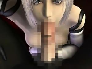 Blondie 3D hentai cutie show tits