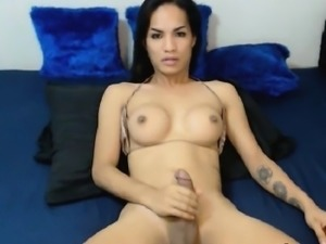 Exotic Shemale from the Orient Ready for Hard Fucking