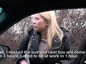 if only she didn't miss her bus