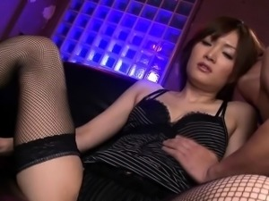 Asian milfs face dripping sperm