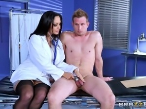 the doctor will examine your cock now