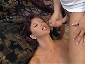 Cumshots on Deborah Wells 2