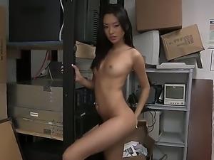 Alina Li is a small tits asian slut that wants to become a star no matter...