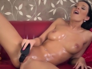 Massage Oil Covered Cougar Orgasms