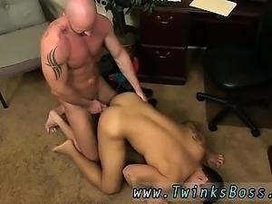 Free hung men gay sex movies first time Pervy boss Mitch Vau