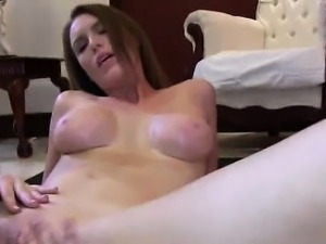 Hot college lesbian babe getting eaten out
