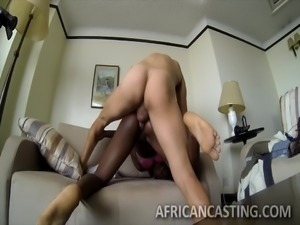 african bitch fucked hard