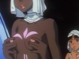 Shemale anime group gangbang
