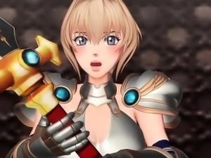 Princess Knight Gangbang - Horny 3D anime sex movies