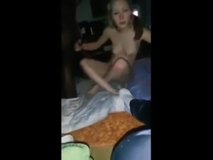 Dutch girl is horny and gets fucked by black guy
