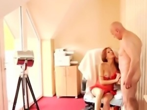 Teen blonde with glasses fucked first time He was hired to d