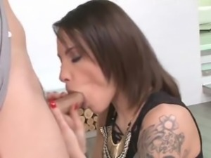 French Slut and stranger