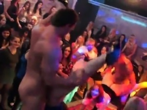 Unusual cuties get totally crazy and naked at hardcore party