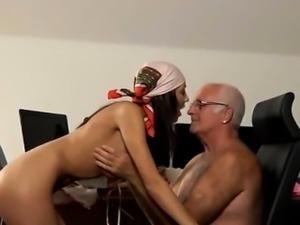 Old lady lesbian and ebony blowjob in public bathroom At tha