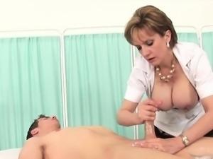 Unfaithful english milf lady sonia flaunts her huge breasts