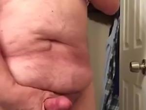 Artemus - Crossdressed, Big Nips, Tits, Cock and Cum