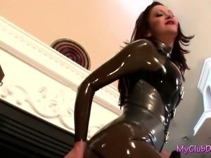 Mistress Mya Vicious dominates