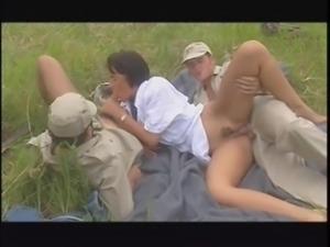 Safari tourist wife gangbang