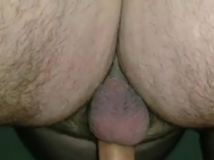 Sexy wife amateur fucks my cock with her pussy lips