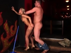 Hot Angela Devil with round ass rides long cock and the get facial