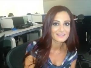 Jilnar Jardaly the Deliciously Slutty Whore of Lebanon