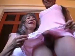 Mrs Loving Dressing Her Sissy Crossdresser
