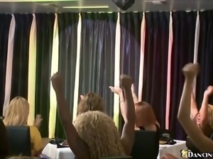 Huge Bachelorette Party - Dancing Bear