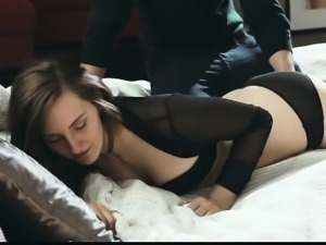 The gorgeous girl in this beautiful and heated porn movie