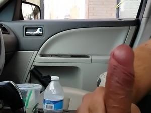 Cock flashing Latina milf