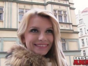 Mofos - Karina Grand - Sexy Blonde s First Anal Pounding