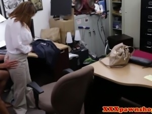 Busty mature fucked for a good deal