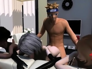 Naruto And The Final Fuck - Fabulous 3D hentai porn clips