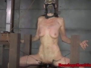 Masked sub punished with shock therapy