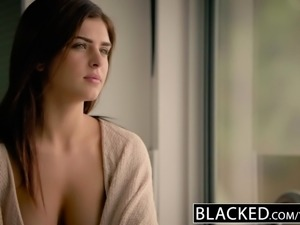 BLACKED Teen Leah Gotti Loves Big Black Cock
