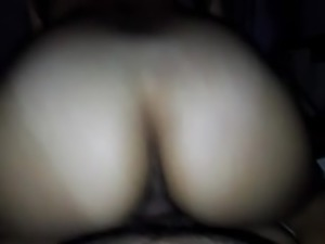Girlfriend riding dick while parents sleep