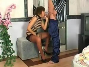 russian wife in stockings