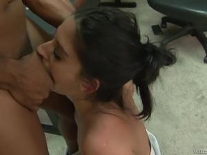 naughty brunette milf craves for dick @ black kong dong