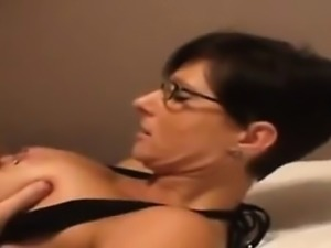 Titjob with assjob that is enormous cumshot