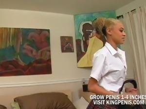 Cute Ebony School Girl Fucking For Tuition