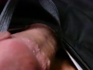 Public masturbating on bus