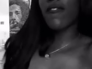 black girl i know saying her ass is fat