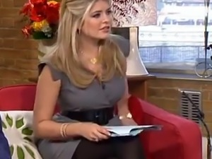 HOLLY WILLOUGHBY PANTYHOSE PLEASURE